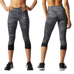 Adidas Tech Fit Printed Cropped Tights S